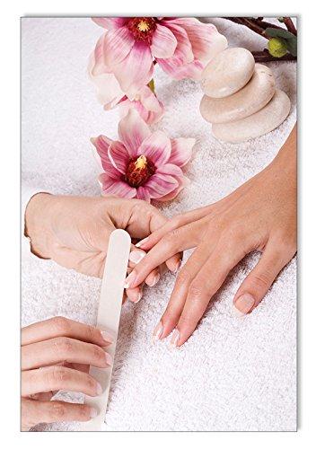 Poster Feile Nails DIN A3 Nagelstudio Nageldesign Nailart Wandgestaltung Kosmetik Nails 29,7x42,0cm