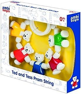 Ambi Toys Ted & Tess Pram String by Ambi Toys