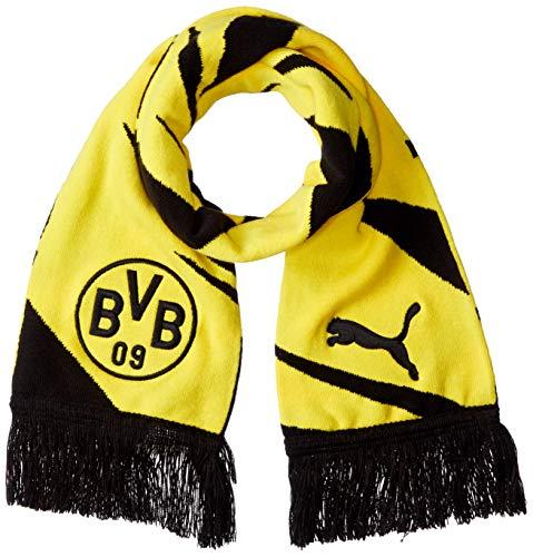 PUMA BVB Fußball Fan-Schal Puma Black-Cyber Yellow UA