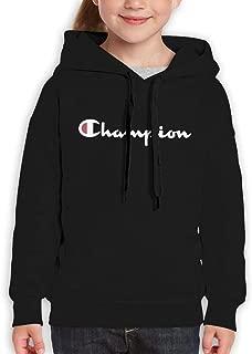 Teenager Hoodies Hooded Sweatshirt for Boys and Girls Black