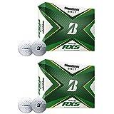 Bridgestone Golf 2020 PGA Tour B RXS Golf Balls with REACTIV Cover, White (2 Dozen)