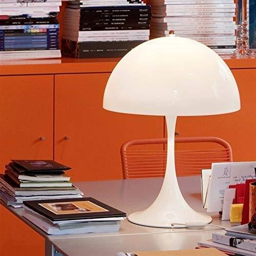 Lámpara de mesa Creativo moderno hongo de la tabla Lámparas de mesa blanca de la lámpara de la luminaria de la sala Panthella luz de la tabla Herramientas de iluminación ( Lampshade Color : White )