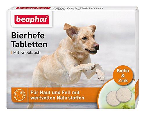 Beaphar Bierhefetabletten für Hunde, 1er Pack (1 x 65 g)