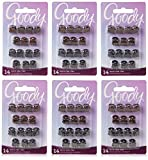 Goody Claw Hair Clips, Micro, Assorted Colors, 14 Count (Pack of 3) (1942362)