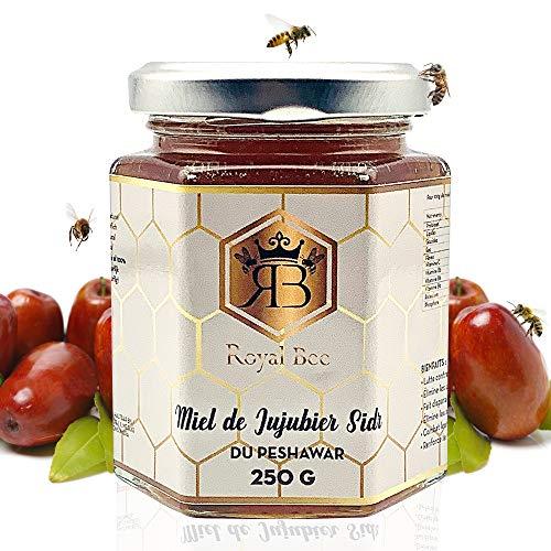 Miel de sidr jujubier du Peshawar 250 g + 1 cuillère en bois