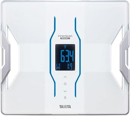 タニタ 体組成計 スマホ 日本製 ホワイト RD-906 WH 医療分野の技術搭載/スマホでデータ管理 インナースキャンデュアル