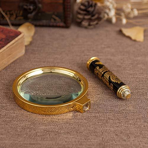 90Mm handheld 4X vergrootglas voor het lezen van boek, krant, insecten, kaart, kruiswoordraadsel puzzel, gravings, sieraden