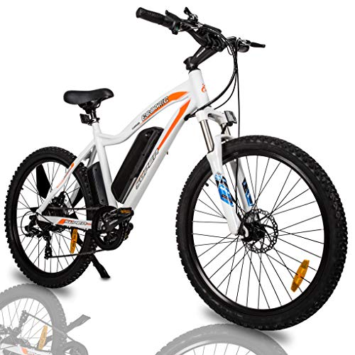 """51K2CetX+ L Ecotric Electric Mountain Bike 26"""" with 500W Motor"""