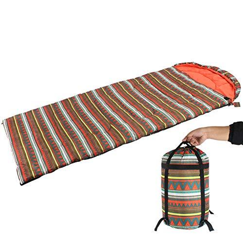 Enkele Outdoor Camping Slaapzak, Waterdichte Envelop Slaapzak 1.65KG Geschikt voor Reizen Lunch Break Wasbaar met Wasmachine