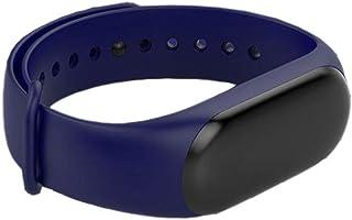 YYL@ZNSH Pulsera Actividad,Relojes inteligentes Bluetooth 4.0, Banda inteligente podómetro para niños, mujeres y hombres Ritmo Cardíaco Sueño/Azul