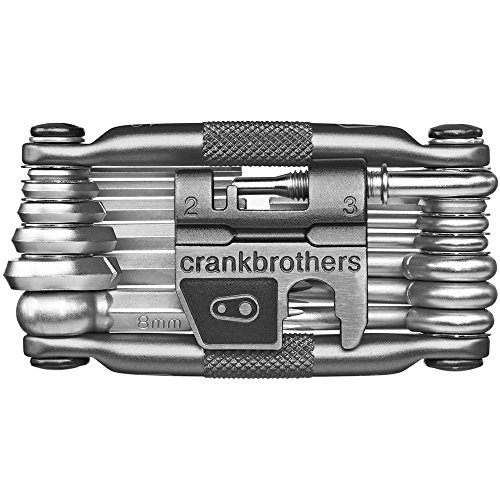 CRANKBROTHERs Mini Bike Tools Multi 19 Tool Black +Case
