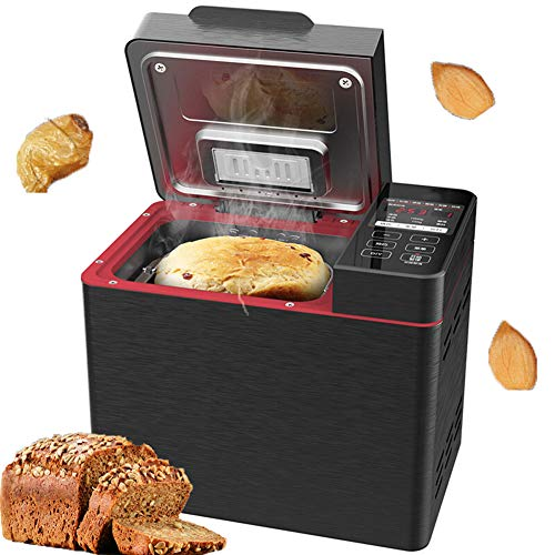 Best Review Of HFSKJWI Electric Bread Maker Home DIY Bread Makers Machines Can Be Scheduled to Power...