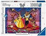 Ravensburger Puzzles 1000 piezas, La bella y la Bestia, Puzzle Disney, Rompecabezas Ravensburger de óptima calidad, Princesas Disney, Edad Recomendada 12+