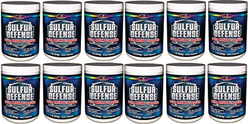 7 Lights Sulfur Defense, Pure 99.9% MSM (Methylsulfonylmethane) Crystals, 1 Pound, Case Pack of 12