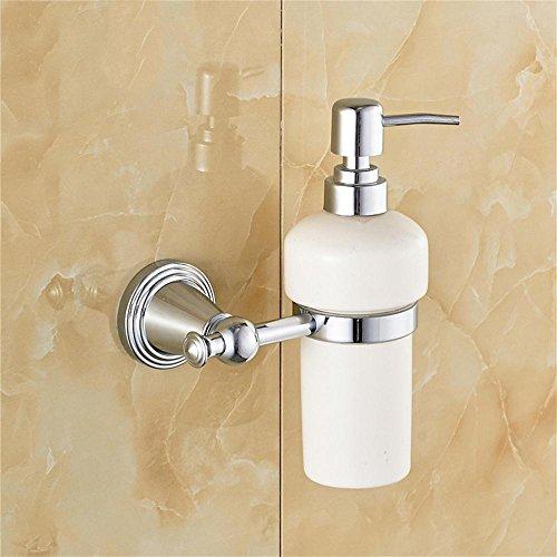 JXXDDQ Todo Europea-Cobre baño dispensador de jabón Botella de desinfectante de Manos Jabón de Prensa de la Botella (Color : Chrome Color)