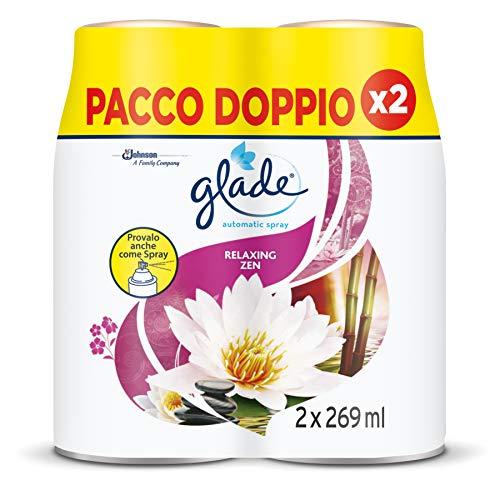 Glade Automatic - Recarga Relaxing Zen Bipace, 2 recargas, 538 ml
