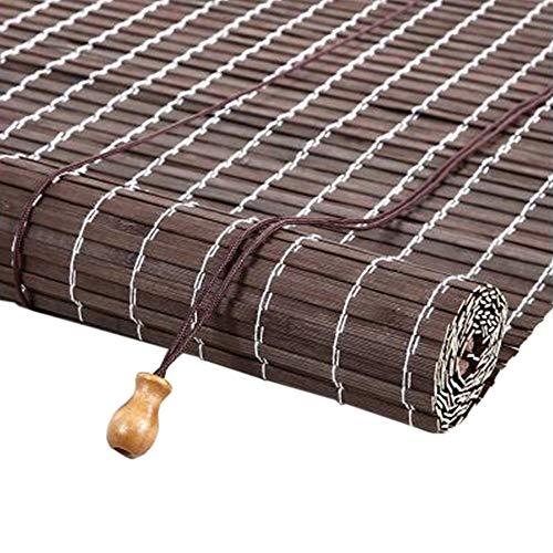 JIAYUAN gordijnen van bamboe, rolluiken horizontale schaduwen van zonnezeil voor slaapkamer balkon roman