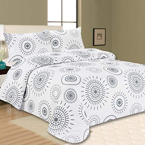 Sonia Moer Premium Duvet Cover Set Indian Ink (Double)