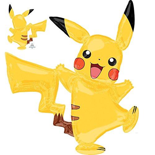 Pokémon Pikachu AirWalker folie ballon- Geweldig alle Pokémon thema feesten & alle Pokémon fans