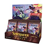 Magic The Gathering Strixhaven Japanese Set Booster Box | 30 Packs (360 Magic Cards)