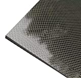 HSTD Finitura Opaca in Tessuto Twill di Pura Fibra di Carbonio 3k Reflective Plain Weave