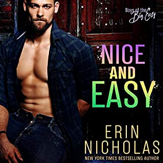 Nice and Easy     Boys of the Big Easy              Written by:                                                                                                                                 Erin Nicholas                               Narrated by:                                                                                                                                 Ryan West                      Length: 9 hrs and 35 mins     Not rated yet     Overall 0.0