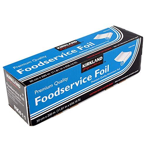 Kirkland Signature Foodservice Foil - Premium Quality Aluminium Foil 30cm x 200 metres