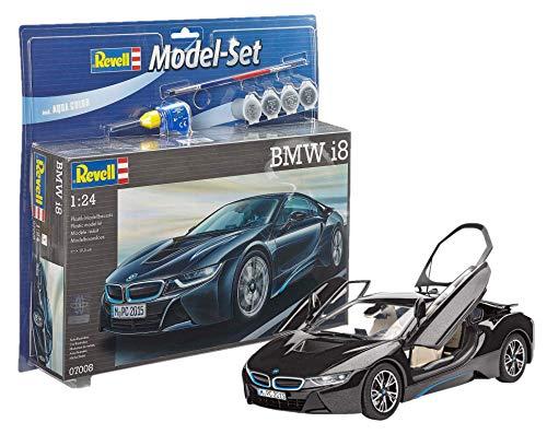 Revell Model Set - 67008 - Bmw I8 - 131 Pièces - Échelle 1/24