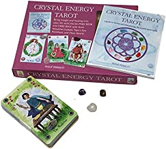 Crystal Energy Tarot Includes 78 Cards and a 64 Page Book by Philip Permutt