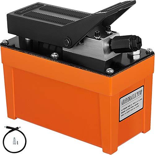 VEVOR Pompa Idraulica da 0,5 gallone Pompa Idraulica a Pedale Pedale Pneumatico ad Azionamento Idraulico
