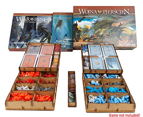 docsmagic.de Organizer Insert for War of The Ring 2nd Edition - Box...