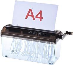 $87 » Shredder for Home/Office A4 Paper Shredder, Shredded Paper Manual Hand Paper Shredder Document File Handmade Straight Cutt...