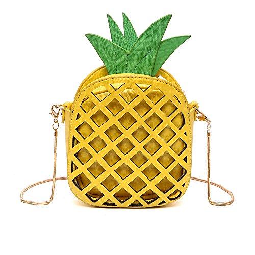 ananas crossbody borsa le donne pu cuoio Borse a spalla per le donne telefono cluth Borse a mano regalo di natale