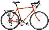 Windsor Tourist 700c Chromoly Steel Touring Bike 27 Speed (Orange, 54cm)