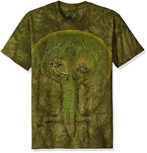 The Mountain Men's Celtic Roots T-Shirt, Green, Large