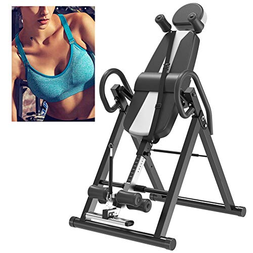 Purchase Inversion Table for Back Pain Relief, Inversion Therapy Gravity Table Heavy Duty Inverted B...