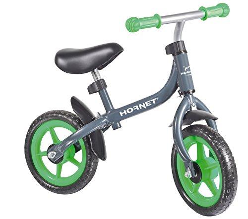 Hornet 10712 - Laufrad Bikey 3.0, 10 Zoll - Kinder-Laufrad, grün