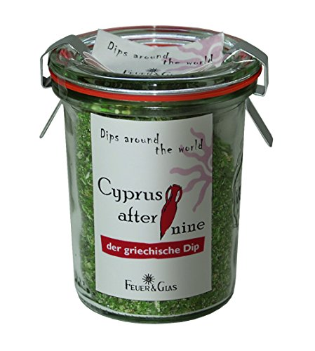 "Feuer & Glas – Miscele di spezie per salsa fredda ""Cyprus after nine"" (60g)"