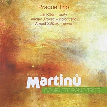 Martinů: Complete Piano Trios