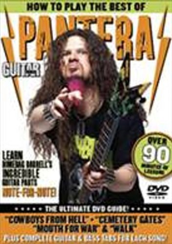 Guitar World: How to Play the Best of Pantera [DVD] [Import]