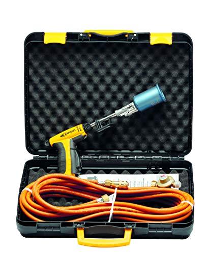 Accesorio para soldador, lámpara de soldador, hierro de cobrador, soplete de estanqueidad, piezas de repuesto, pistola de retracción Wizz, potencia 50 kW, cuello 130 mm con accesorios