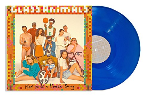 Glass Animals 'How To Be A Human Being' Exclusive Coral Blue vinyl Bonus Fold-out Poster & Download Card [vinyl] Glass Animals