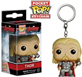 Funko- Age of Ultron Pocket Pop Keychain Marvel Avengers AOU Thor, 5227