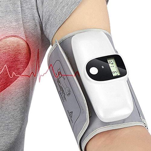 SONG Esfigmomanómetro Electrónico, Medidor de Presión Arterial de Brazo Portátil, Carga, Presurización Inteligente, Pantalla de Alto y Bajo Voltaje