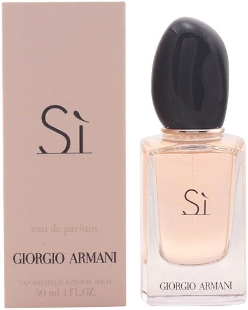 Giorgio armani sì, eau de parfum,profumo per donna, 30 ml ARMANI-816511