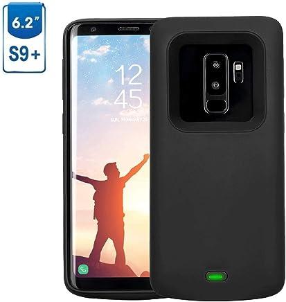 f3f9325ccd4 Samsung Galaxy S9 Plus Funda Batería, 5200 mAh Recargable Externa Portátil  Batería Cargador de Batería