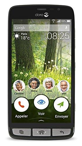 doro-liberto-825-smartphone-8-gb-nero-acciaio