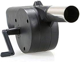 BonTime Al Aire Libre Que Cocina el Ventilador de la Barbacoa Soplador de Aire para los Fuelles de Fuego de la Barbacoa accionados por manivela