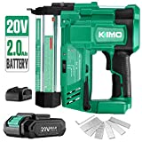 Best Brad Nailers - KIMO 20V 18 Gauge Cordless Brad Nailer/Stapler Kit Review