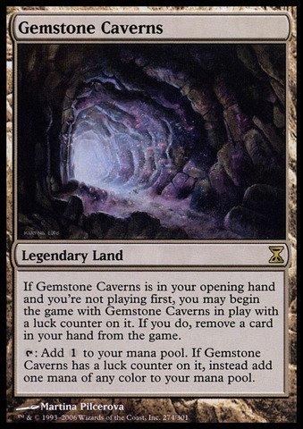 Magic The Gathering - Gemstone Caverns - Time Spiral